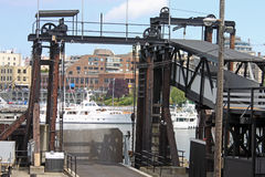 Boat Lift Stock Images