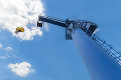Boat Lifting Crane Stock Image