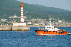 Free Boat & Lighthouse Stock Images - 14670684