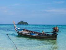Boat in Lipe Stock Photo