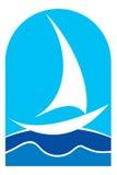 Boat logo Royalty Free Stock Photo