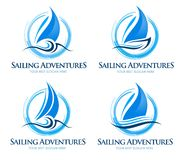 Free Boat Logo Royalty Free Stock Images - 45647559
