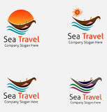 Boat Logo - Brand Identity for Boating Business Stock Photography