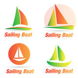 Boat logo Royalty Free Stock Photos