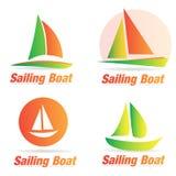 Boat logo Royalty Free Stock Photos