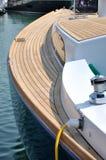 Boat Maintenance In Harbor Royalty Free Stock Photo