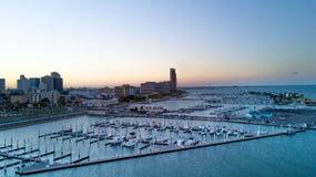 Boat Marina. Marina at Corpus Christi , Gulf of Mexico Royalty Free Stock Photography