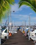 Boat Marina. Royalty Free Stock Image