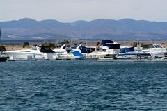 Free Boat Marina On Lake Pueblo State Park Colorado Lake Reservoir Royalty Free Stock Photography - 144052107