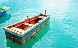 Boat at Marsaxlokk Harbor Malta. Boat at Marsaxlokk Harbor, Malta island Stock Image