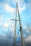 Boat masts Royalty Free Stock Images