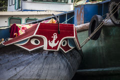 Boat in the mekong delta Royalty Free Stock Photo