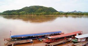 Boat Mekong Stock Image