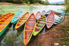 Boat in Mexico Royalty Free Stock Photography