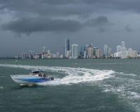Boat Miami City Florida Stock Photography