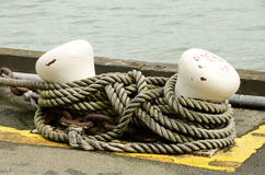 Boat Moaring Stock Photography
