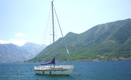 Boat in Montenegro. Stock Images