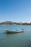 Boat moored in Zakynthos port Stock Photography