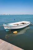Boat moored in Zakynthos port Royalty Free Stock Image