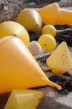 Boat Mooring Buoys Royalty Free Stock Photo