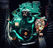 Boat motor Royalty Free Stock Images