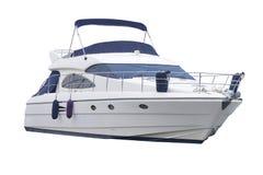 Boat. Motor boat isolated on white background Royalty Free Stock Photo
