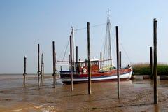 Boat on Mudd Royalty Free Stock Photos