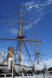 Boat Museum Masts Royalty Free Stock Images