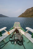 Boat navigating on sea of Paraty Stock Photo