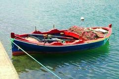 Boat near fort of Bizerte, Tunisia Royalty Free Stock Photos