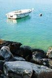 The boat near the shore Stock Photo
