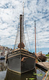 Boat in Netherlands Royalty Free Stock Photos