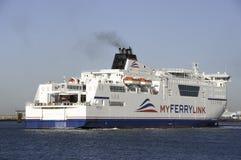 Boat of new company Myferrylink Stock Photo