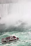 Boat in Niagara Falls Stock Photos