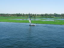 Boat on the Nile Royalty Free Stock Images