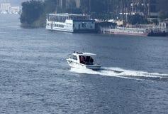 Boat in nile in egypt Stock Image