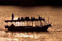 Boat in the Nilo Stock Image