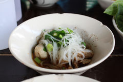Boat Noodles Royalty Free Stock Photography