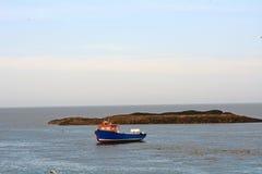 Boat, North Sea Stock Photo