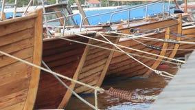 Boat stock video