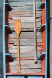 Boat oars Stock Image