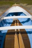 Boat and oars in Capri, Italy, Europe Royalty Free Stock Photo