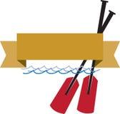Boat Oars Stock Photo