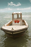 Boat in the ocean Stock Photography