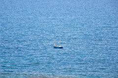 Boat. A boat in the ocean Royalty Free Stock Photos