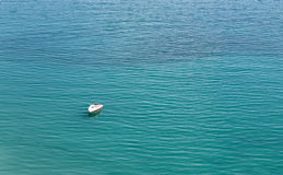 Boat in an Ocean Royalty Free Stock Photography