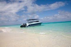 Boat On Beach Royalty Free Stock Photo