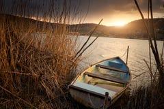 Free Boat On Lake Royalty Free Stock Photo - 123387175