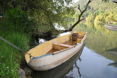 Boat On The Lake Royalty Free Stock Photo