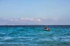 Free Boat On The Sea Royalty Free Stock Image - 12441136
